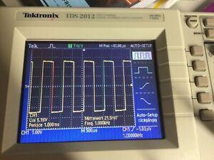 Tektronix TDS 2012 2Kannal Oszilloskope 100Mhz 1GS/s