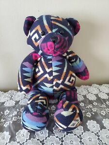 Pendleton By Gund Plush Print Teddy Bear