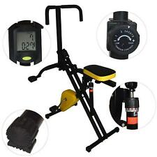 Total Crunch Abdominal Trainer with Exercise Bike Cardio Fitness Workout