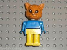 Figurine Chat LEGO FABULAND figure minifig cat ref x583c01 / Set 3701 Cornelius