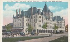 B77687 montreal place viger hotel and station   canada scan front/back image