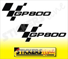 adesivi moto Gilera GP800 coppia adesivi stickers GP