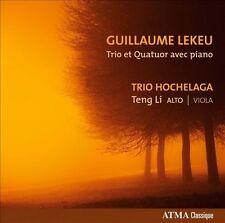 Guillaume Lekeu Trio Et Quatuor Avec Piano, New Music