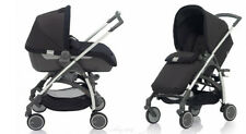 Inglesina Avio Stroller and Bassinet Travel System in Black Brand New!!