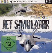 PC CD ROM + JET simulatore + action + combattimento aereo + kampfflieger + XP/Vista/win7 +