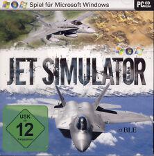 Pc cd rom + Jet simulator + ACTION + combat + pilotes de chasse + xp/vista/win7 +