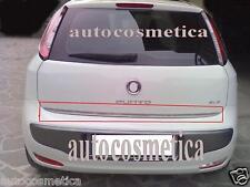 Striscia cromata portellone SPECIFICA Fiat Punto Evo e  Grande Punto acciaio 05>