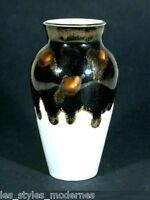 Goebel Oeslau Style Art Nouveau Vase en Porcelaine Avec Glaçure