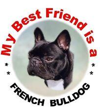 2 French Bulldog Car Stickers No 2 - Starprint