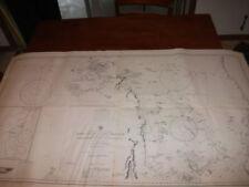 Vintage Nautical Maritime Chart ( Booby Island to Cape Greenville  Australia )