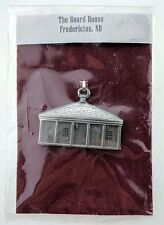 Aitkens Pewter The Guard House Ornament Fredericton New Brunswick NEW Historical