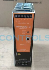 BRAND NEW WEIDMULLER  1469480000 PRO ECO 120W 24V 5A DIN RAIL POWER SUPPLY