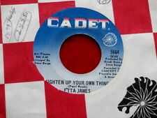 ETTA JAMES~ TIGHTEN UP YOUR OWN THING~VG++~ WHAT FOOLS WE MORTALS~ SOUL 45