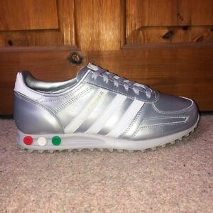 Adidas LA Trainer Originals Trainers Silver Men's Size UK 8 Brand New With Box