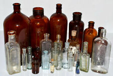 More details for a collection of 24 antique apothecary chemist bottles [pl3036]