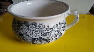 Royal Doulton STRAWBERRY chamber pot .