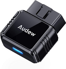 Audew OBD2 Bluetooth Scanner with Free App and Battery Test,Code Reader Car Diag