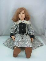 WP Vera Scholz 1993, Künstlerpuppe, Puppe, Vintage, ca. 65 cm