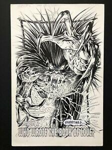 "Mike Deodato jr. - Glory #2 Pg 1 SPLASH ORIGINAL ART 11x17"" Image 1995"