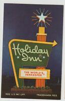 Unused Postcard Holiday Inn Livermore California CA Sign Worlds Innkeeper