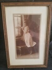 vintage/ antique framed photo of woman