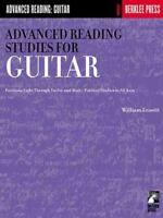 Advanced Reading Studies for Guitar, Paperback by Leavitt, William, Brand New...