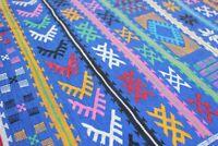 Azizaw / Kilim Berbère / Tapis Sabra / Amazigh Tribal / 150 x 95 cm
