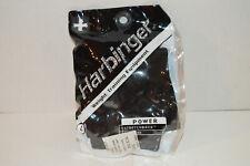 Harbinger Power Stretchback Palm Pad Strength Weight Training Gloves Black L