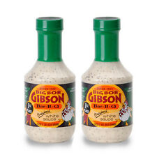 Big Bob Gibson Original White Sauce 16 oz - 2 Pack