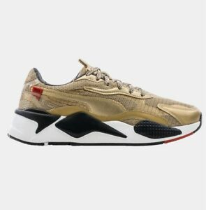 Puma RS-X3 WC Running Shoes Mens Size 12 Gold/Black 374808-01