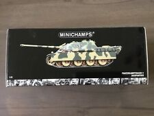 Minichamps German Camo Panzer Jagdpanther Tank Destroyer In 1/35 Scale New