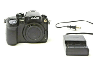 Panasonic Lumix GH4  Camera Body (Black) Used Excellent Condition Shot Ct. 248