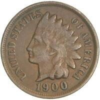 1900 Indian Head Cent Fine Penny FN