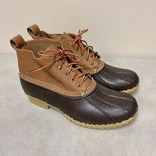 """LL Bean 6"""" Bean 'Duck' Boots Unlined Men's Size 13 WIDE Runs Large"""