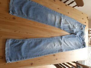 ladies next denim jeans 12 xl light blue