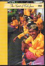 THE SPIRIT OF BALI-JAVA - VARIOUS ARTISTS - DVD (NUOVO SIGILLATO)