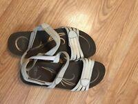 Abeo  BIO System Leather Upper Ladies Sandals Size 11