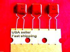 25 pcs  -  .33uf  (0.33uf)  50v  NP  metalized poly film capacitors