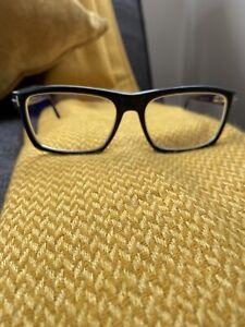 Tom Ford TF5434 001 Black Frames with Prescription Lenses