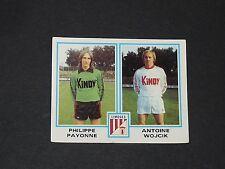 N°399 PAYONNE WOJCIK LIMOGES PANINI FOOTBALL 80 1979-1980
