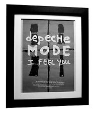 DEPECHE MODE+I Feel You+POSTER+AD+RARE+ORIGINAL+1993+FRAMED+EXPRESS GLOBAL SHIP