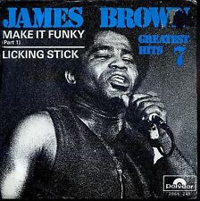 7inch JAMES BROWN make it funky part 1 HOLLAND EX +PS 1971