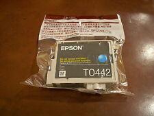 PACK 2 CARTUCHOS EPSON T0442 CYAN PRECINTADO ORIGINAL NUEVO CADUCADO