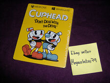 XBOX MICROSOFT WINDOWS 10 ///Cuphead\ STEELBOOK (GAME NOT INCLUDED) NEW SEALED
