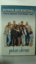 Power Recruiting How to Sponsor Your Dream Team Jackie Ulmer 2010 CD Course