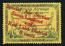 Canada Semi Official Patrica Airways 5c Overprint Type B Red Desending #CL15c
