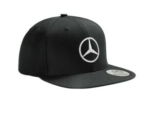 100% 2021 Genuine and Authentic Mercedes-Benz Base Ball Cap Hat Black