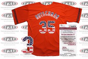 Adley Rutschman Signed Custom USA Baltimore Style Jersey JSA Witnessed
