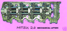 NEW FITS MITSU STARION CONQUEST 2.6 SOHC CYLINDER HEAD MECHANICAL LIFTERS 81-86