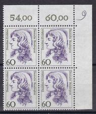BRD 1987 postfrisch VB oben rechts MiNr. 1332  Dorothea Erxleben